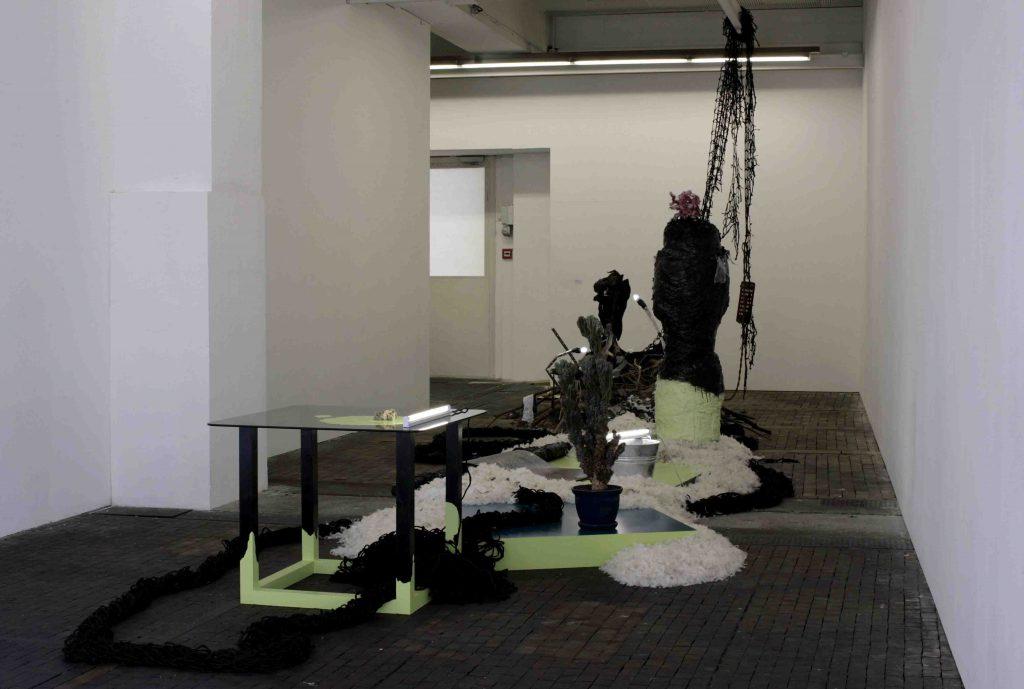 Baptiste Gaillard Centre d'art contemporain Une sculpture fluide Genève