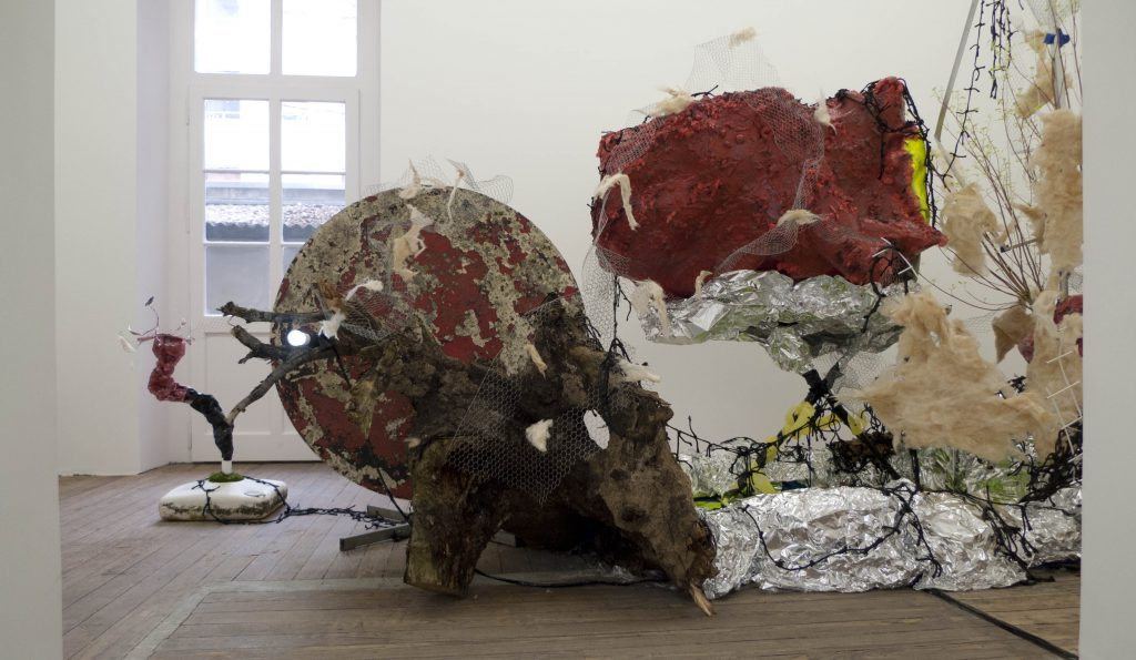 Baptiste Gaillard Babel Tourniquet galerie TMproject Genève