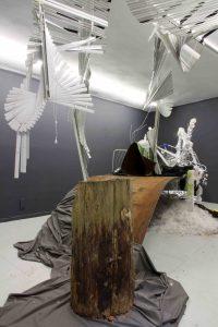 Baptiste Gaillard Ramshackle U37 Raum für Kunst Berlin